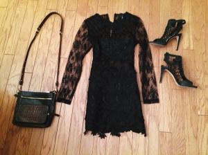 Little Black Dress / Vegas outfit / Concert Look / details at www.friskygypsy.com