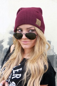 Tribe Kelley Beanie and Raybans